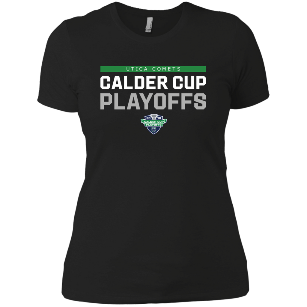 Utica Comets 2018 Postseason Next Level Ladies' Boyfriend T-Shirt