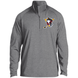 Wilkes-Barre/Scranton Penguins Adult Half Zip Raglan Performance Pullover