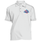 Rochester Amerians Contrast Stitch Performance Polo