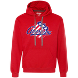 Rochester Americans Primary Logo Heavyweight Pullover Fleece Sweatshirt