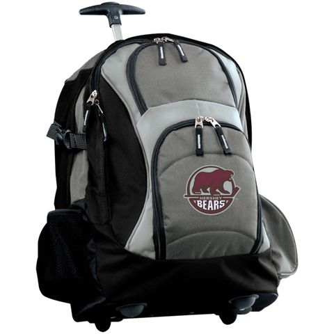 Hershey Bears Embroidered Wheeled Backpack