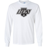 Ontario Reign Primary Logo Adult Long Sleeve T-Shirt