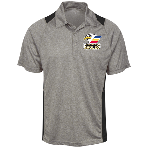 Colorado Eagles Heather Moisture Wicking Polo (Sidewalk Sale)