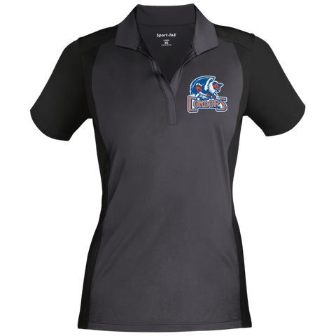 Bakersfield Condors Ladies' Colorblock Sport-Wick Polo