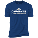 Toronto Marlies 2018 Calder Cup Champions Adult Crown Next Level Premium Short Sleeve T-Shirt