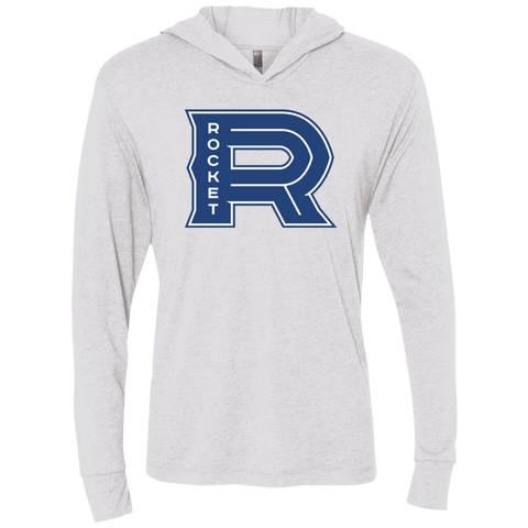 Laval Rocket Next Level Unisex Triblend Long Sleeve Hooded T-Shirt