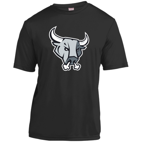 San Antonio Rampage Primary Logo Adult Short Sleeve Moisture-Wicking Shirt