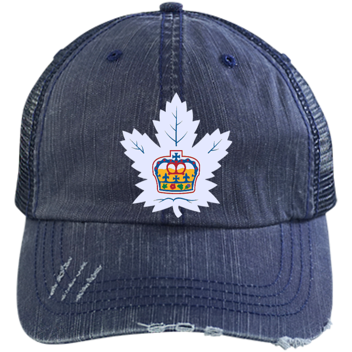 14ff32f0445546 Toronto Marlies Distressed Unstructured Trucker Cap – ahlstore.com