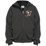 Wilkes-Barre/Scranton Penguins Youth Embroidered Full Zip Hoodie