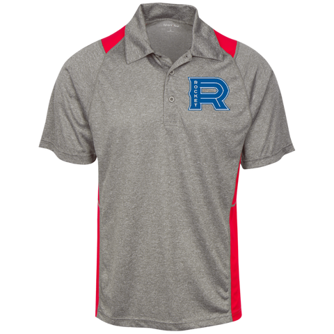 Laval Rocket Heather Moisture Wicking Polo