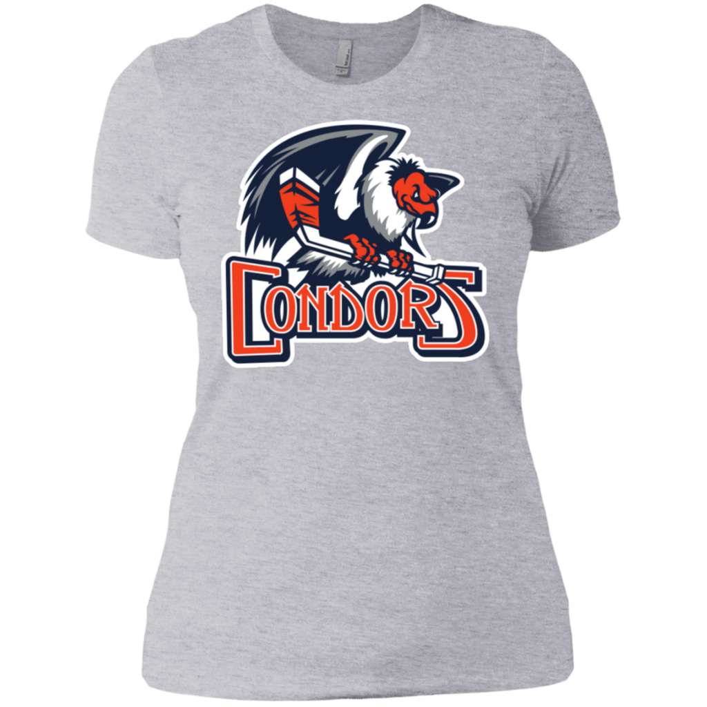 Bakersfield Condors Primary Logo Next Level Ladies' Short Sleeve T-Shirt