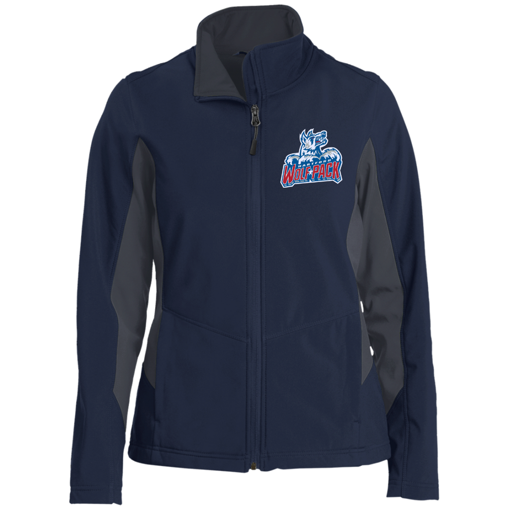 Hartford Wolf Pack Ladies' Colorblock Soft Shell Jacket