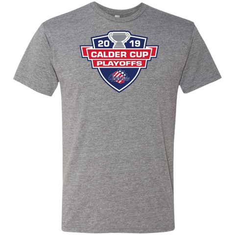 Rochester Americans 2019 Calder Cup Playoffs Next Level Men's Triblend T-Shirt