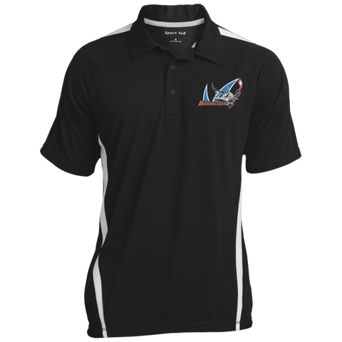San Jose Barracuda Mens Custom Colorblock 3-Button Polo