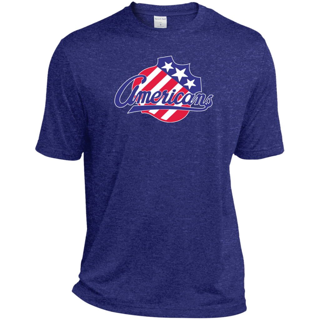 Rochester Americans Adult Heather Dri-Fit Moisture-Wicking T-Shirt