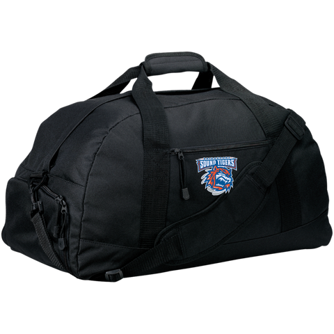 Bridgeport Sound Tigers Large-Sized Duffel Bag