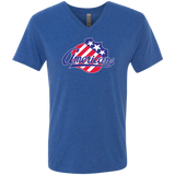 Rochester Americans Men's Next Level Triblend V-Neck Tee