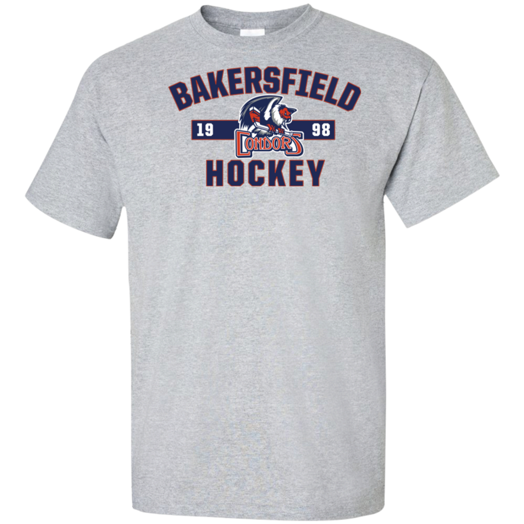 Bakersfield Condors Adult Established Tall Cotton T-Shirt