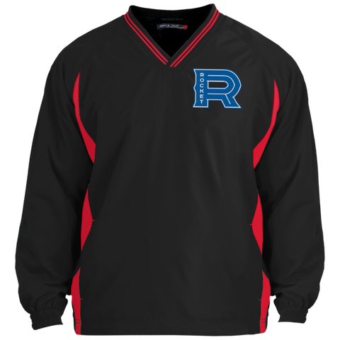 Laval Rocket Adult Tipped V-Neck Windshirt