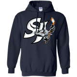 San Jose Primary Logo Adult Pullover Hoodie