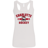 Charlotte Checkers Ladies' Established Softstyle Racerback Tank