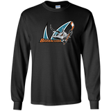 San Jose Barracuda Primary Logo Adult Long Sleeve T-Shirt