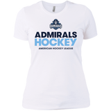 Milwaukee Admirals Hockey Next Level Ladies' Short Sleeve T-Shirt