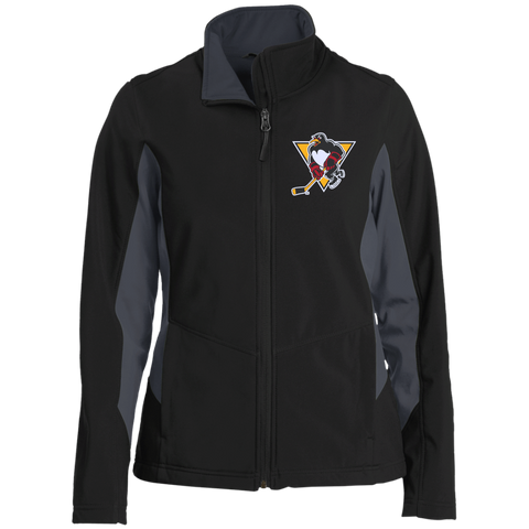 Wilkes-Barre/Scranton Penguins Ladies' Colorblock Soft Shell Jacket