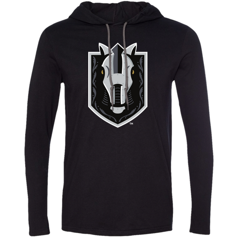 Henderson Silver Knights Adult Primary Logo Long Sleeve T-Shirt Hoodie