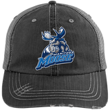 Manitoba Moose Distressed Unstructured Trucker Cap