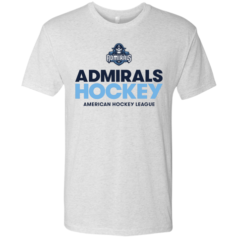 Milwaukee Admirals Hockey Next Level Men's Triblend T-Shirt