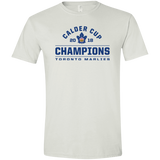 Toronto Marlies 2018 Calder Cup Champions Adult Arch Softstyle T-Shirt