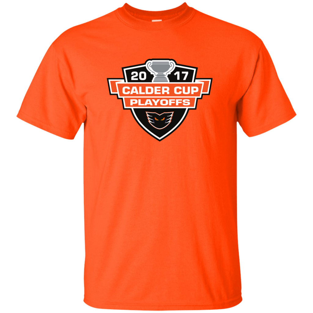 Lehigh Valley Phantoms Adult 2017 Calder Cup Playoffs Short Sleeve T-Shirt (sidewalk sale)