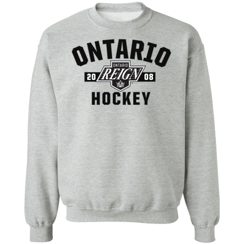 Ontario Reign Adult Established Crewneck Pullover Sweatshirt