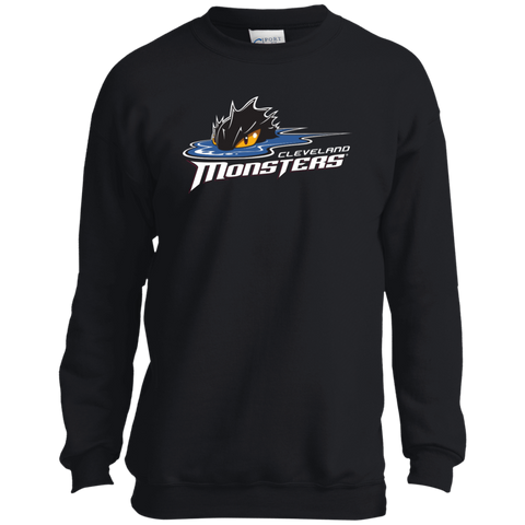 Cleveland Monsters Primary Logo Youth Crewneck Sweatshirt