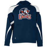 Bakersfield Condors Primary Logo Youth Colorblock Hoodie