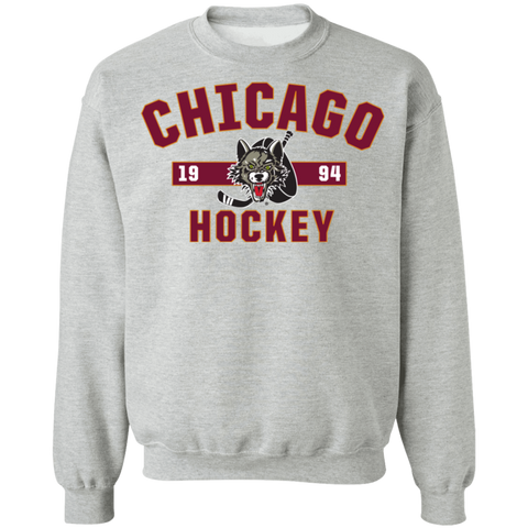 Chicago WolveAdult Established Crewneck Sweatshirt