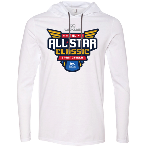 2019 AHL All Star Classic Primary Logo Adult Long Sleeve T-Shirt Hoodie