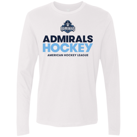 Milwaukee Admirals Next Level Men's Premium Long Sleeve T-Shirt