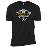 Providence Bruins Adult 2017 Calder Cup Playoffs Next Level Premium Short Sleeve Tee