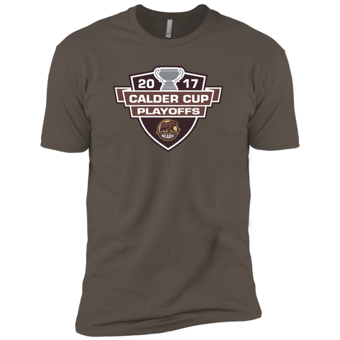 Hershey Bears Adult 2017 Calder Cup Playoffs Next Level Premium Short Sleeve T-Shirt