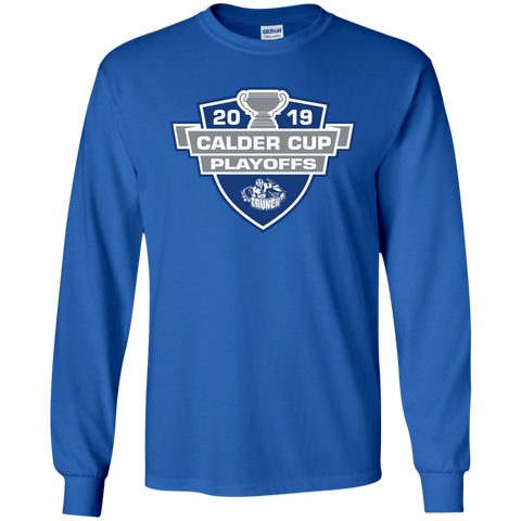 Syracuse Crunch 2019 Calder Cup Playoffs Youth Long Sleeve T-Shirt