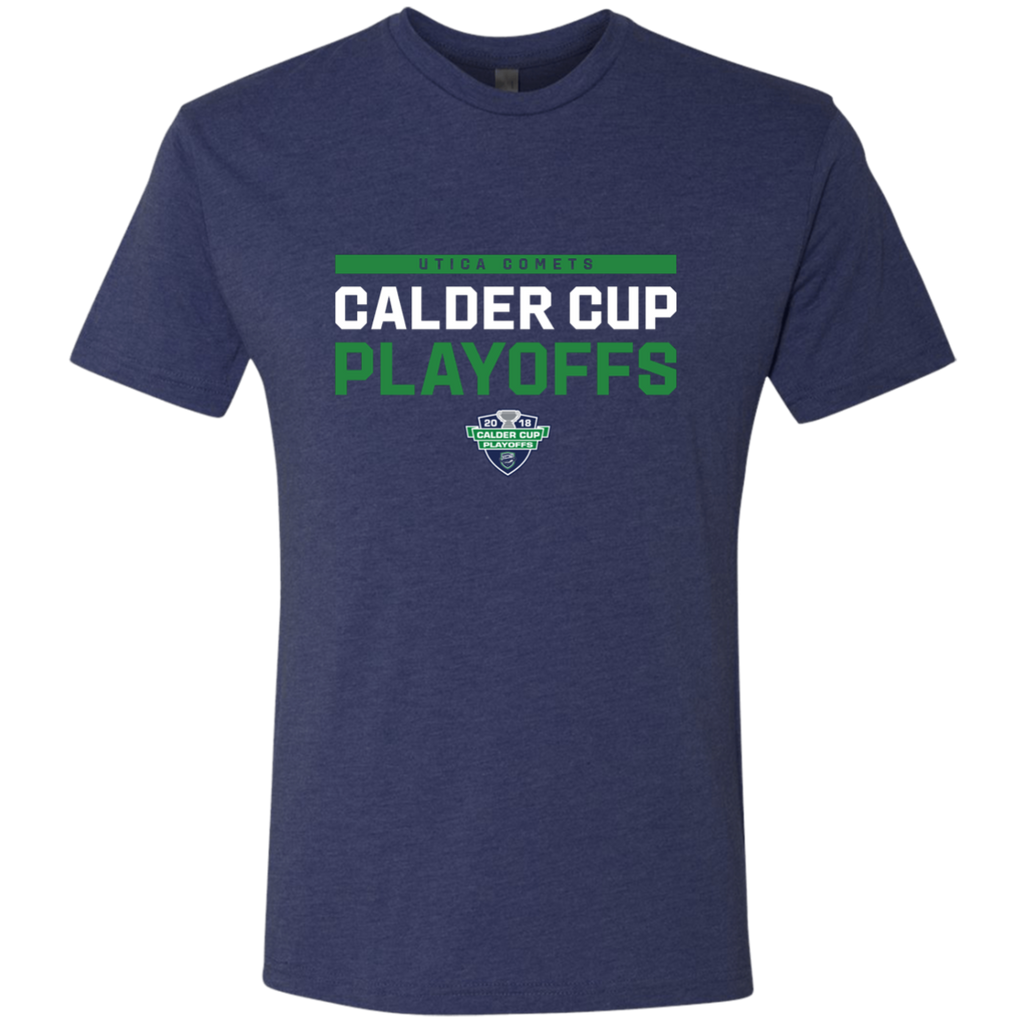 Utica Comets 2018 Postseason Next Level Men's Triblend T-Shirt