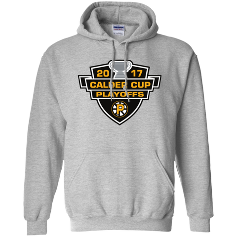 Providence Bruins Adult 2017 Calder Cup Playoffs Pullover Hoodie
