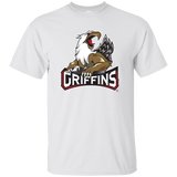 Grand Rapids Griffins Primary Logo Youth Short Sleeve T-Shirt