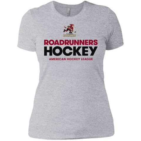 Tucson Roadrunners Hockey Next Level Ladies' Short Sleeve T-Shirt