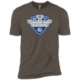Syracuse Crunch Adult 2017 Calder Cup Playoffs Next Level Premium Short Sleeve T-Shirt