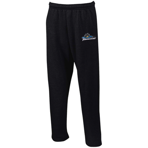 Cleveland Monsters Open Bottom Sweatpants with Pockets