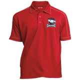 Charlotte Checkers Contrast Stitch Performance Polo