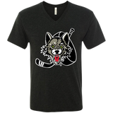 Chicago Wolves Men's Next Level Triblend V-Neck T-Shirt